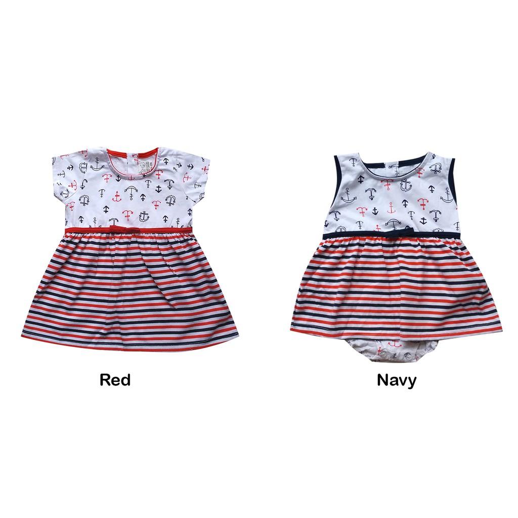 Macbee Baju Anak Dess Cutie Polka Ketty Dress Daftar Harga Sailor Laura Size 3 Navy Toko