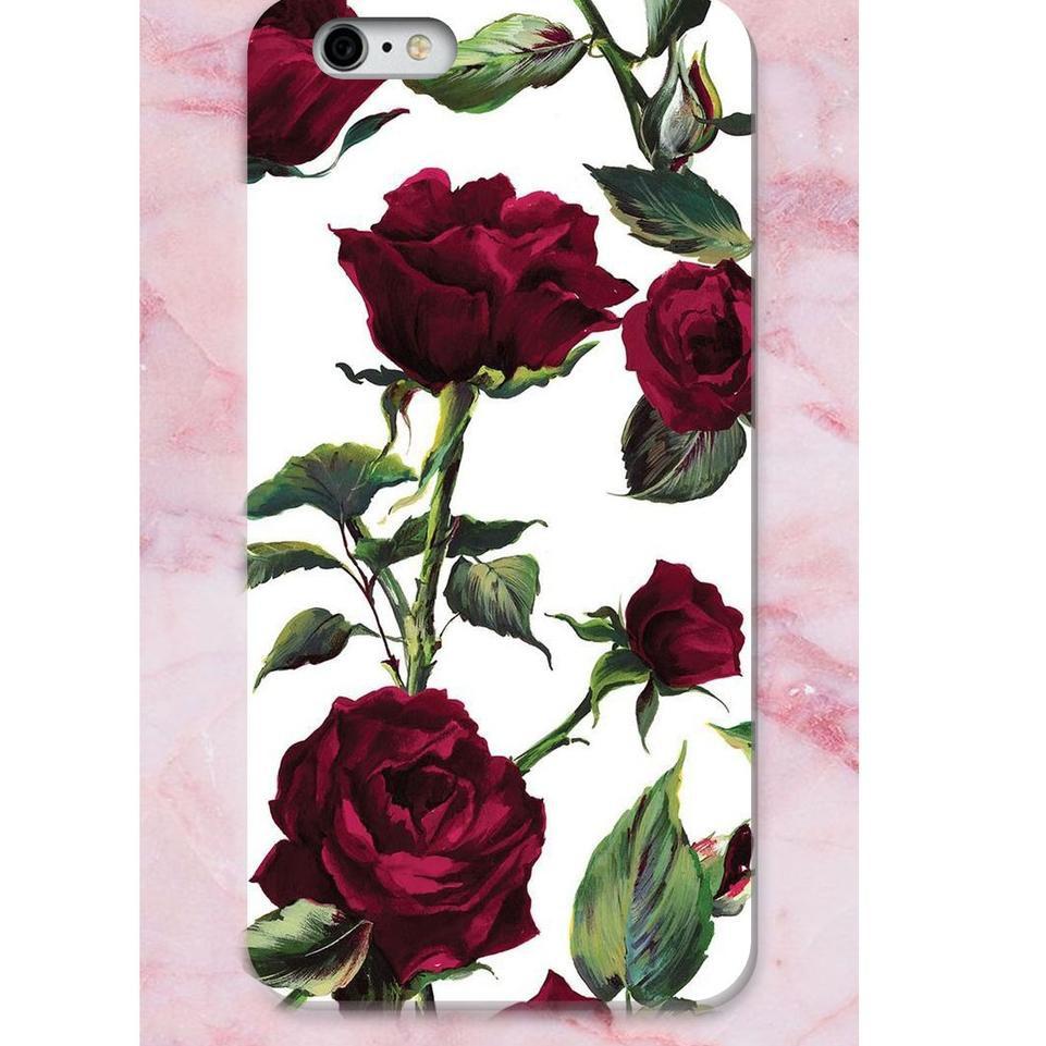 Ls7 Hardcase Full Print 3d Rose Flower All Type Shopee Indonesia