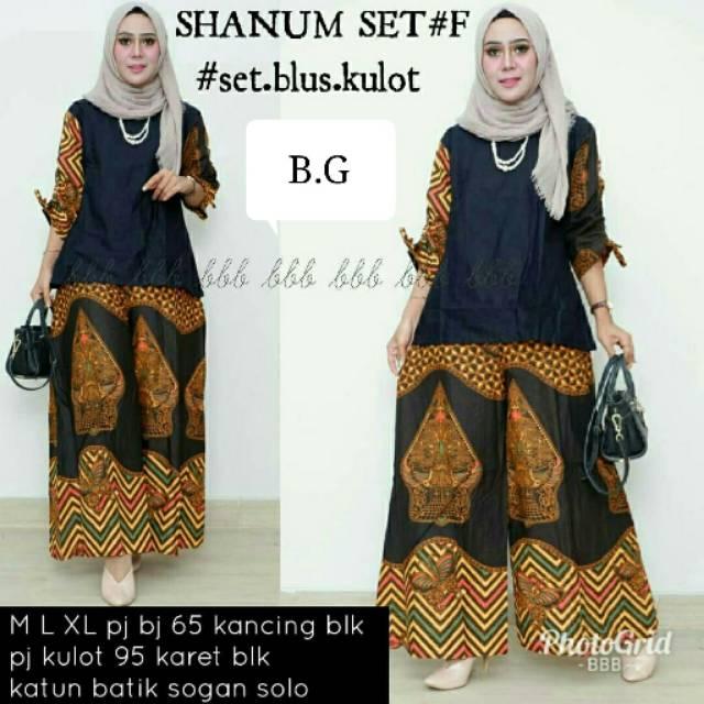 Cp mutiara etnic   cp batik   setelan batik   celana kulot   blus lonceng    batik wanita  eb57f9003f
