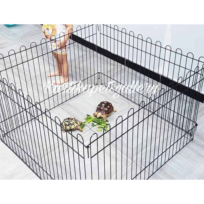 PROMO Kandang pagar pagar anjing kucing kelinci pagar umbar pagar besi  MURAH  c8a9b57cb7