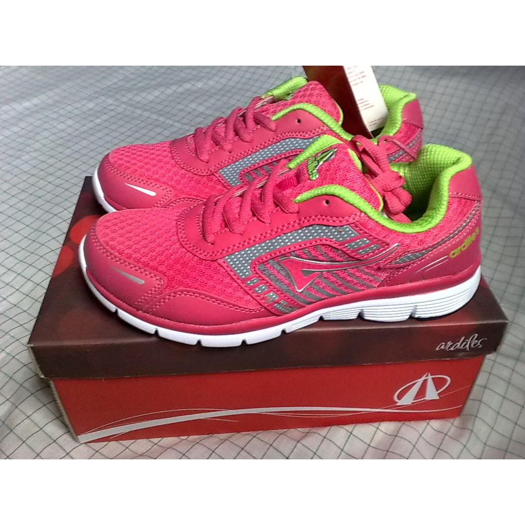 Sepatu Sport Wanita Ardiles Heracles Shopee Indonesia Women Laziza Speatu Running Hitam 38