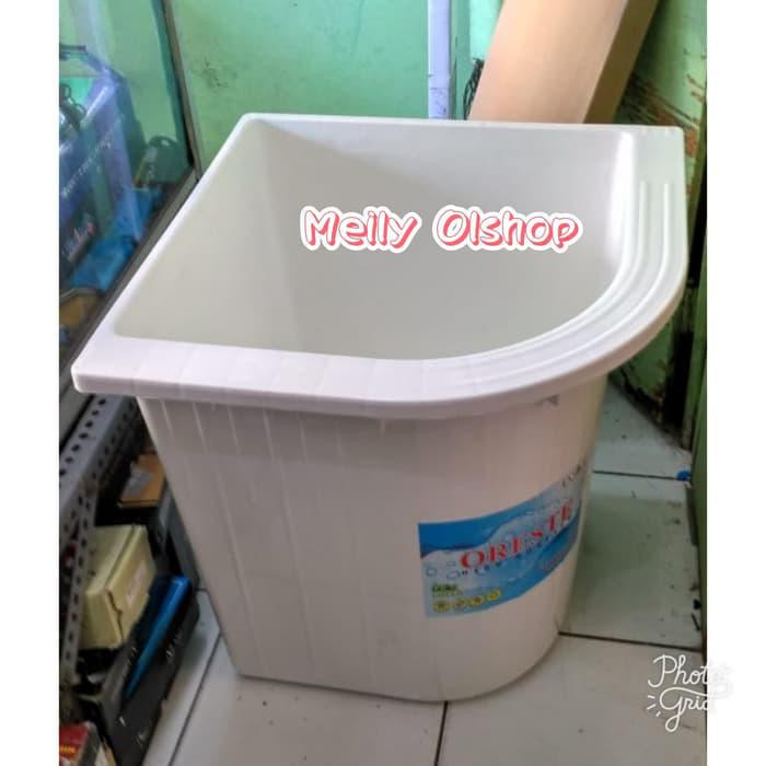 Kmrt | Bak Air Kamar Mandi/ Bak Air Mandi Plastik/ Bak Air Sudut Kamar Mandi