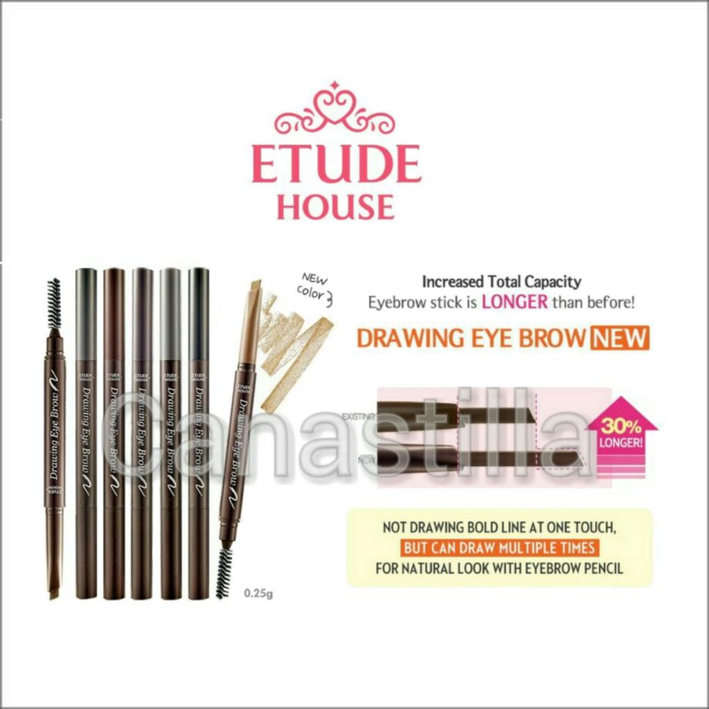 Etude House Drawing Eye Brow New Shopee Indonesia Eyebrow