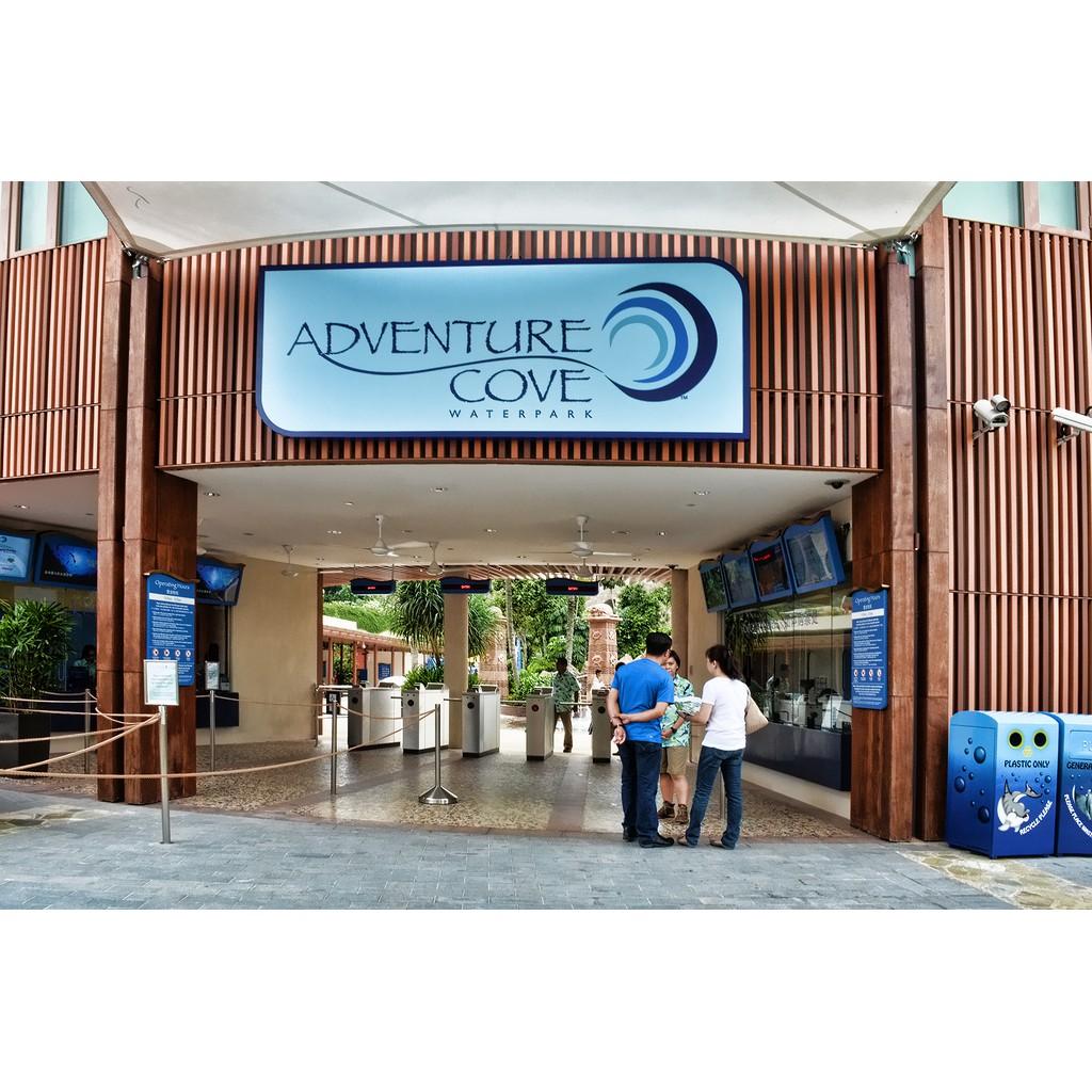 Tiket Adventure Cove Waterpark Anak Child Shopee Indonesia Singapore Dewasa