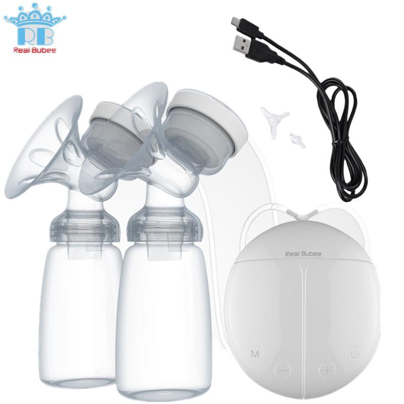 IGO Real Bubee Set Pompa ASI Manual Pompa payudara BPA Free Bayi Menyusui Botol susu Silikon   Shopee Indonesia