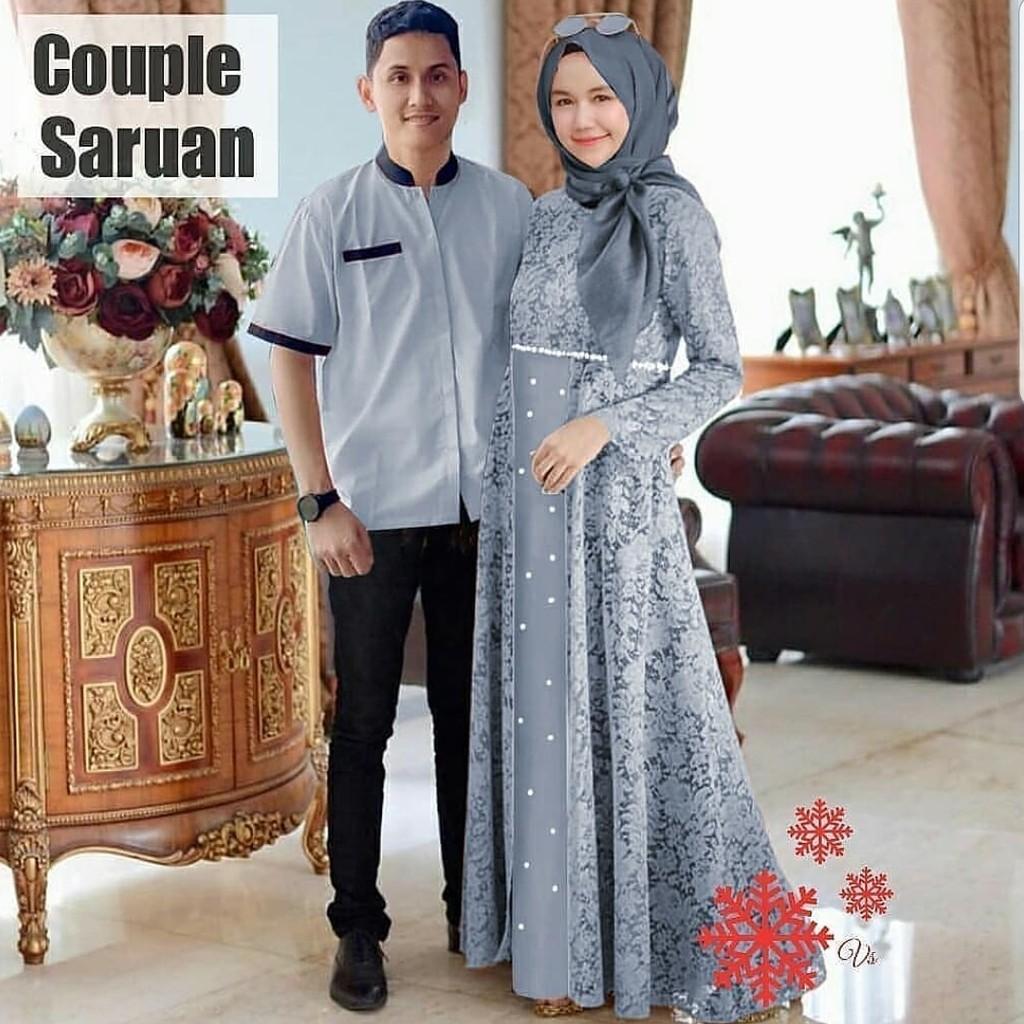 Harga Baju Couple Muslim Terbaik Dress Muslim Fashion Muslim Maret 2021 Shopee Indonesia