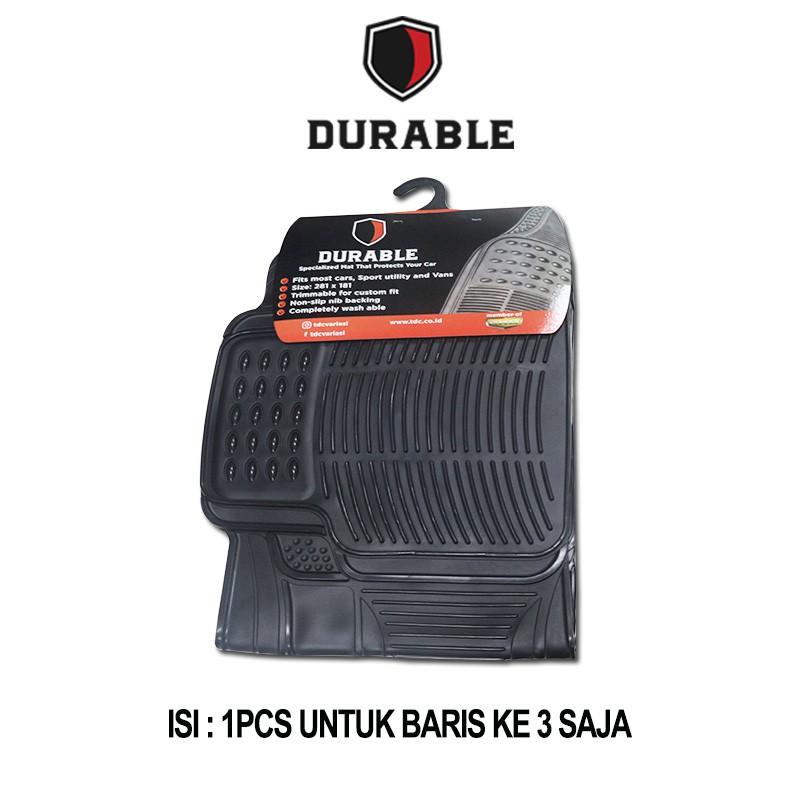 Nissan Terano, Touran , Exora , Everest , Odyssey Karpet Karet PVC 1Pcs Baris 3