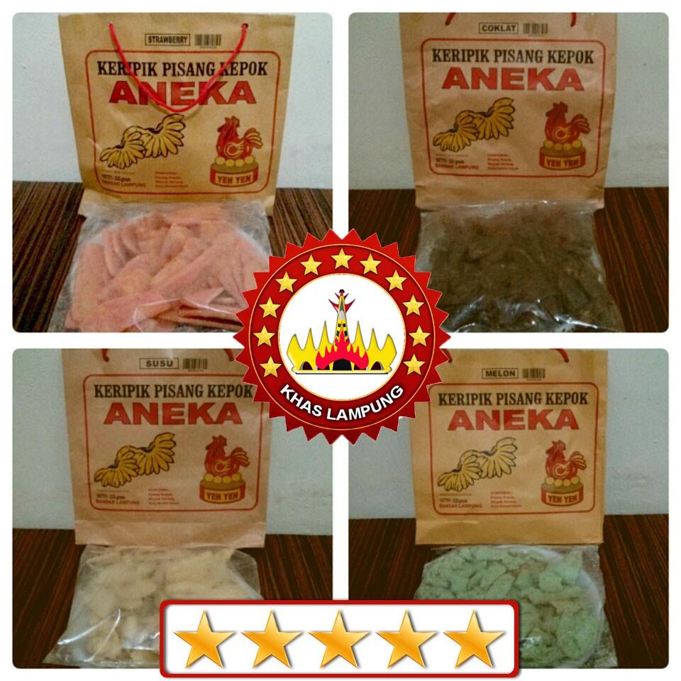 Keripik pisang kepok ANEKA Yen-Yen asli Lampung (ready 15 rasa) !! | Shopee Indonesia
