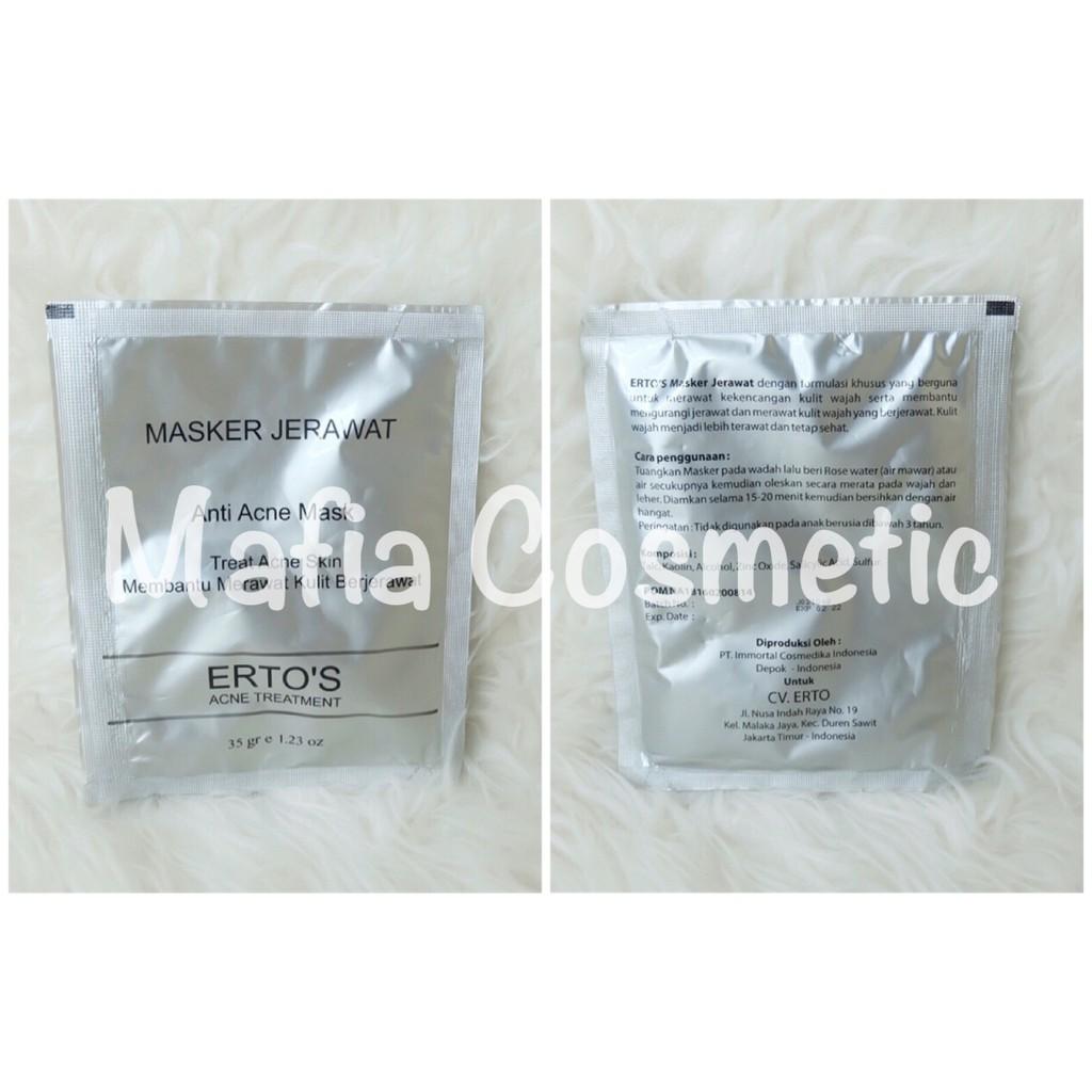 Naturgo Original Mud Mask Masker Lumpur Hanasui Bpom Per Box Sepuluh Sachet Wajah Hitam Shopee Indonesia