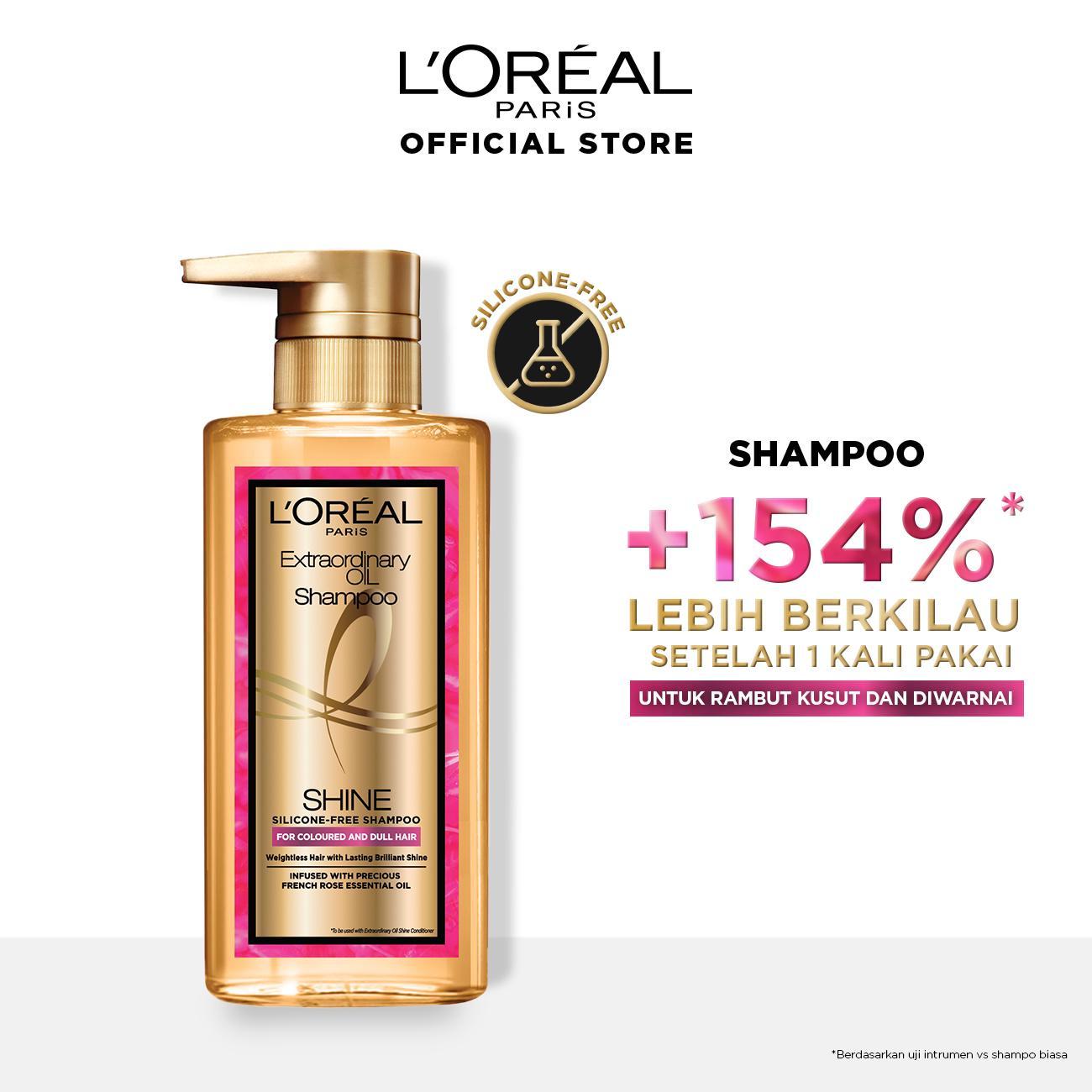 L'Oreal Paris Extraordinary Oil Premium Shampoo Shine- 440ml Twinpack-1