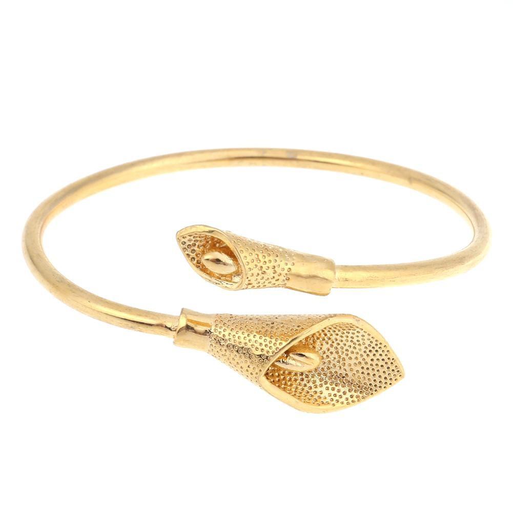 Fashion Female Jewelry Silver Plated Bangles Cuff Bracelets High Quality | Shopee Indonesia