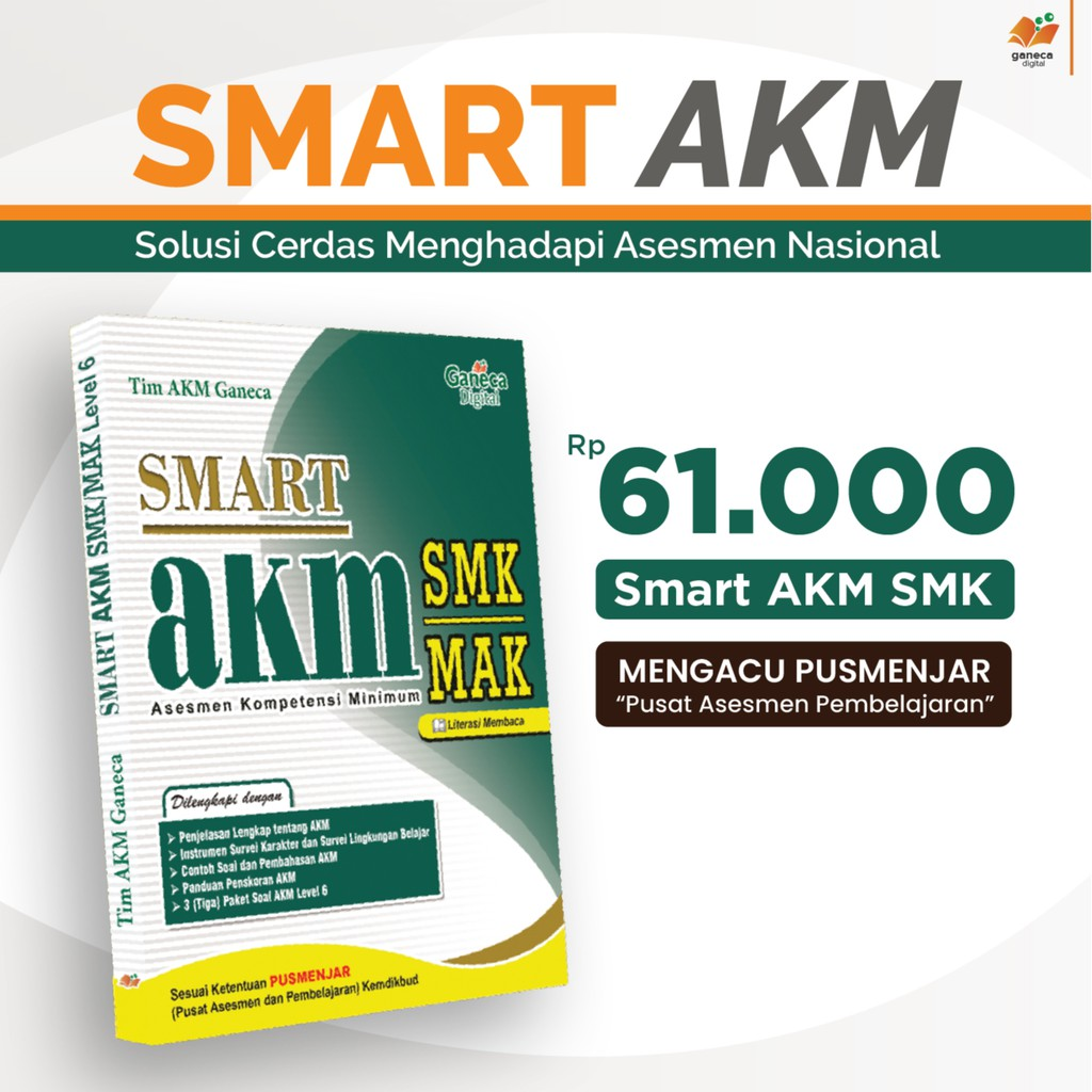 Buku Smart Akm Smk Dari Ganeca Digital Shopee Indonesia