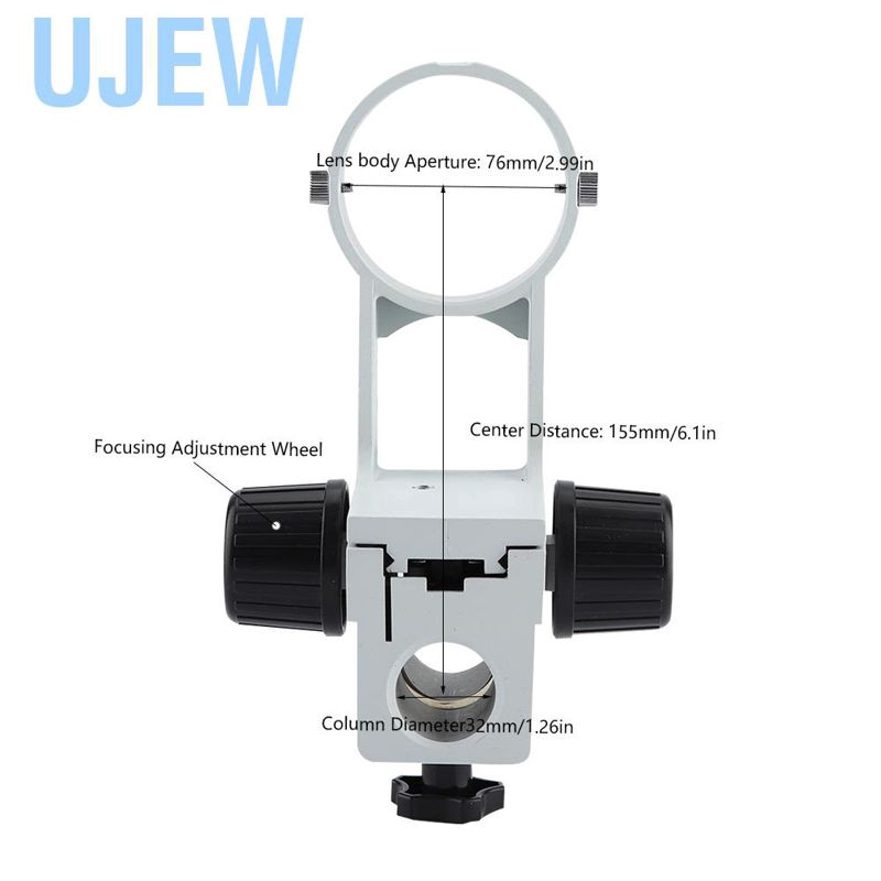 DM-WF010 Wide-Angle 23.2mm Interface Microscope Accessories,for Education Laboratory Microscope Eyepiece Replacement WF20X Microscope Eyepiece