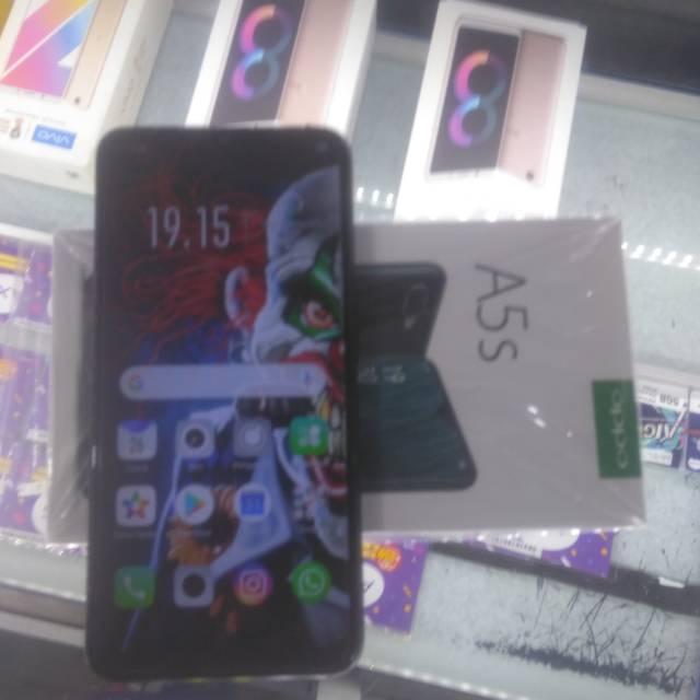 Oppo a5s second bekas seken