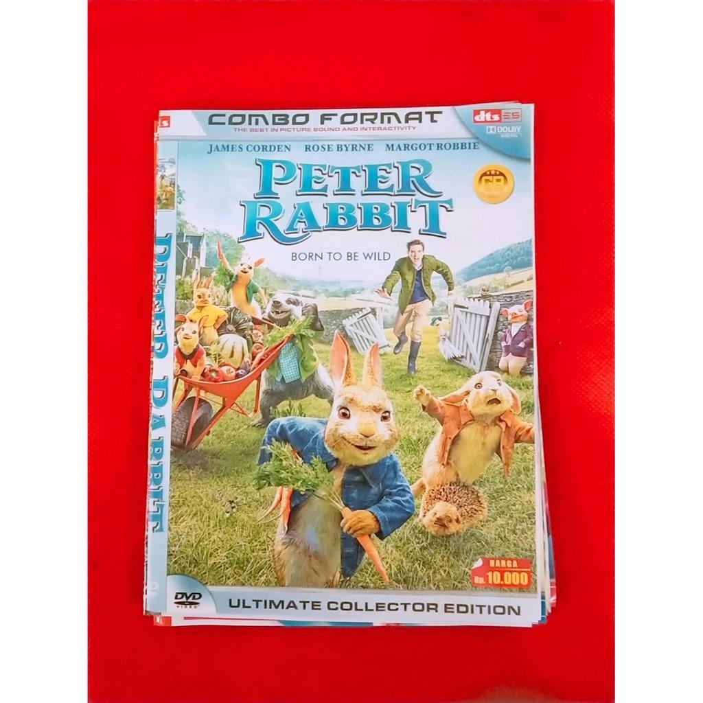 DVD FILM KARTUN ANIMASI PETER RABBIT