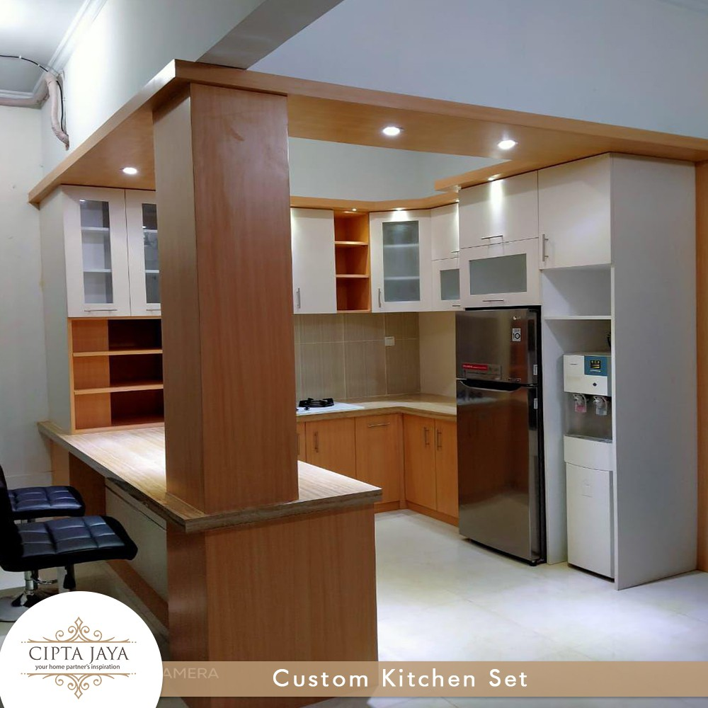 Mini Bar Kitchen Set Custom Minimalis Modern