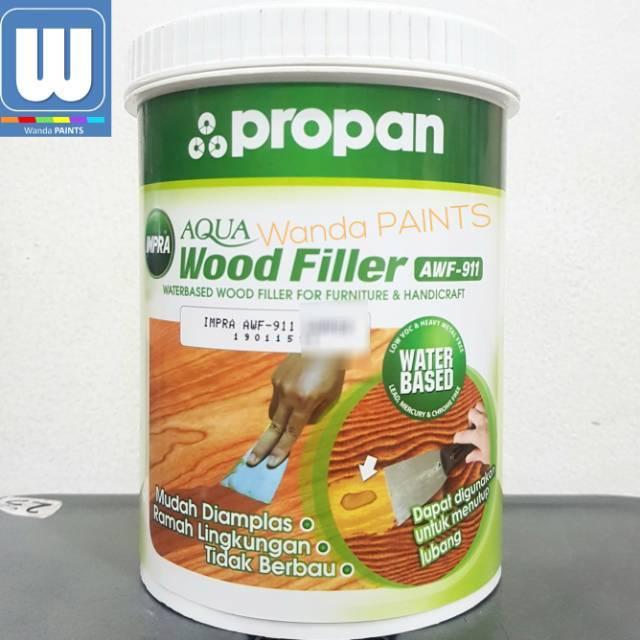 Impra Aqua Wood Filler Awf 911 Dempul Kayu Waterbased 1 Kg Shopee Indonesia