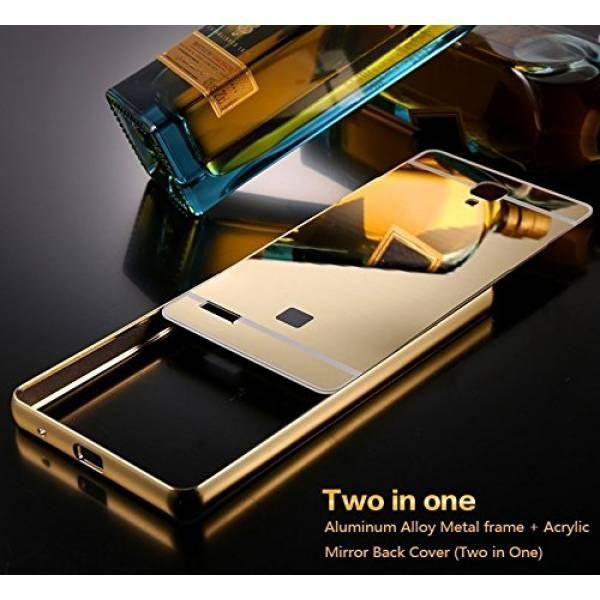 hard case bumper mirror Xiaomi Redmi 4A hardcase aluminium casing | Shopee Indonesia