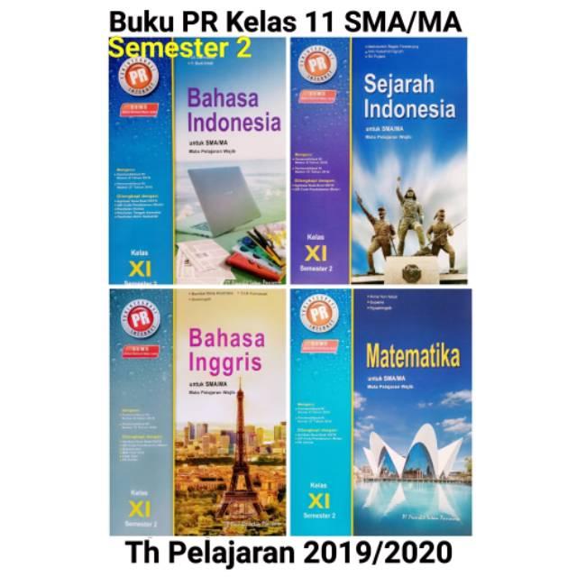 Buku Pr Kelas 11 Sma Ma Mapel Wajib Semester 2 Th Pelajaran 2019 2020 Intan Pariwara Shopee Indonesia