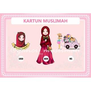 7700 Gambar Kartun Muslimah Indonesia Terbaru