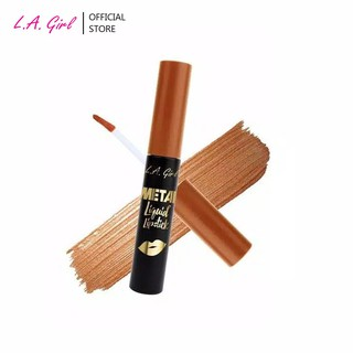 LA Girl Metal Liquid Lipstick Golden thumbnail