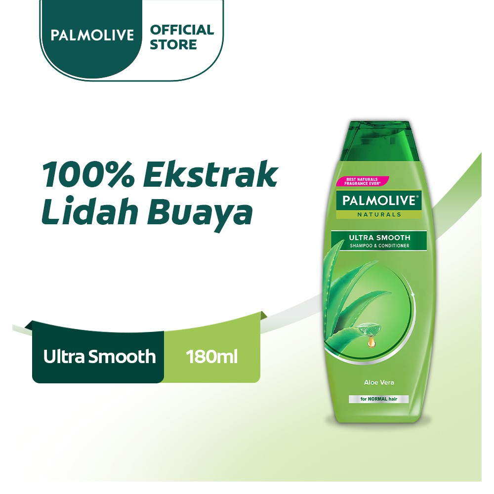 Palmolive Naturals Shampoo & Conditioner Ultra Smooth 180ml - Shampo Kondisioner