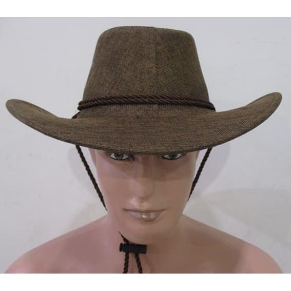 Topi Cowboy Koboi Amerika Laken Anak Remaja Dewasa Topi Zorro   TOP ... 43f08ada78