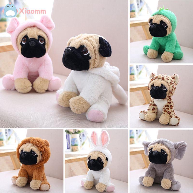 Cod Stuffed Shar Pei Plush Dog Animal Simulation Pug Puppy Toy Stuffed Cute Pet 20cm Shopee Indonesia