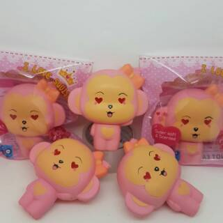 ... Squishy Murah Pink Cheeka Monkey. habis