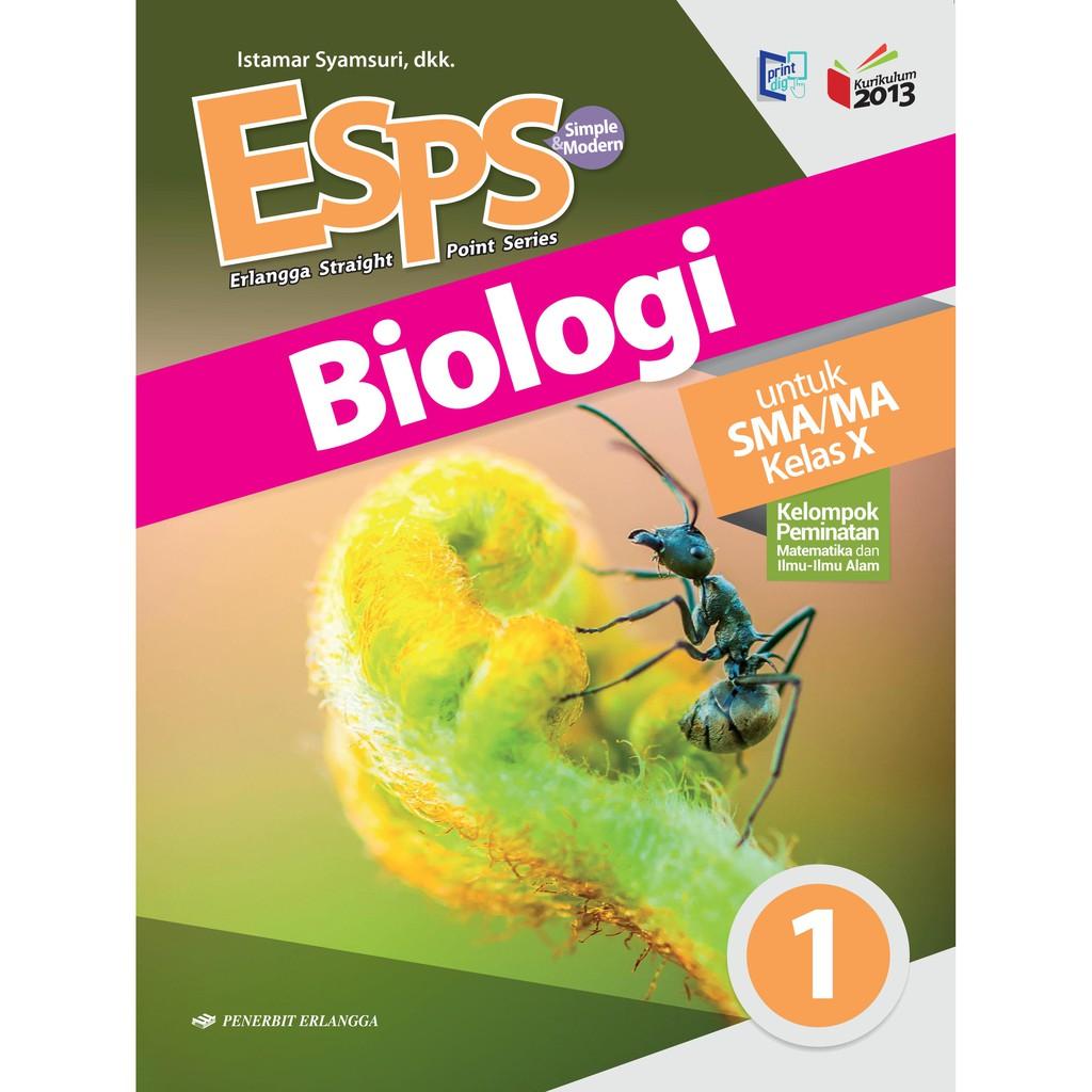 Buku Esps Biologi Sma Ma Kelas 10 Kurikulum 2013 Penerbit Erlangga Shopee Indonesia