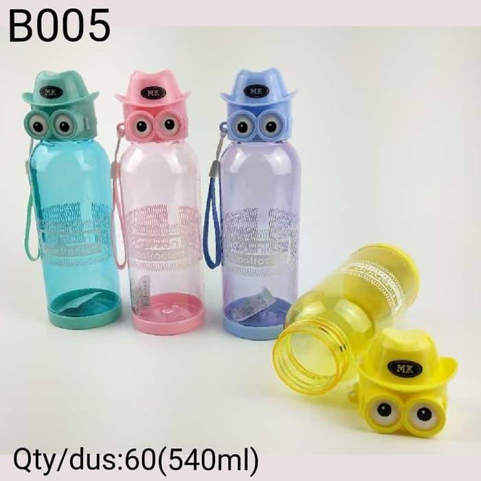 R3C173 Botol Minum Anak Karakter OWL BPA Free - Water Bottle 540ml B005