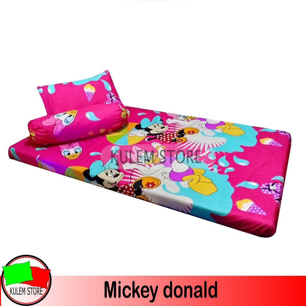 Sarung Bantal Cinta Shopee Indonesia A2 Sprei Matras Protektor Queen King Extra
