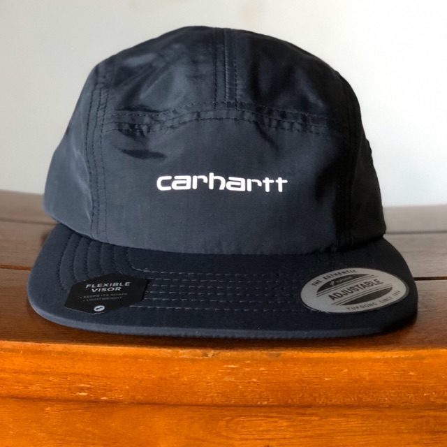carhartt basic logo 5 panel / topi