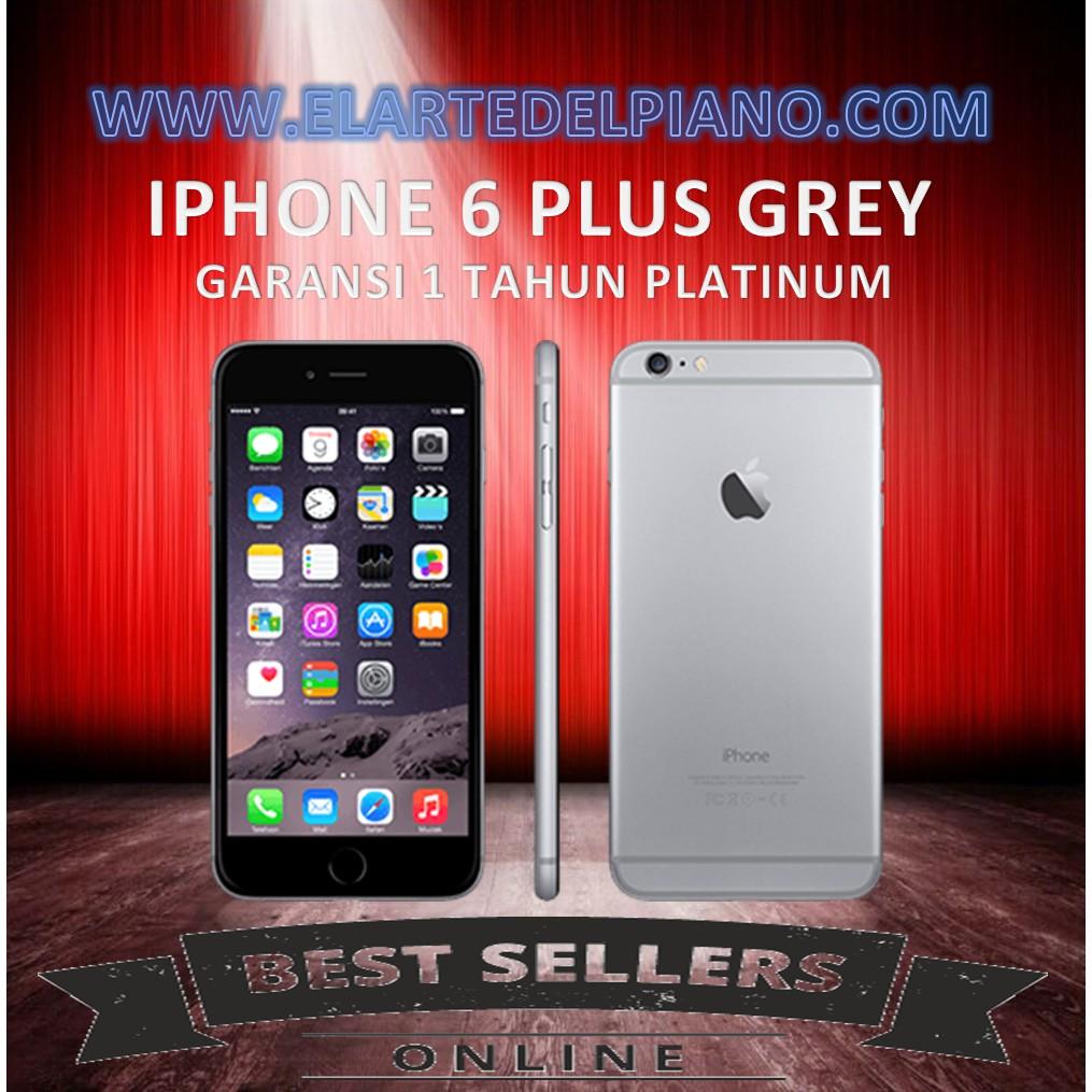 Apple Iphone 6 Plus Grey 128gb Gsm Garansi Distributor 1 Tahun 4s 64gb Shopee Indonesia