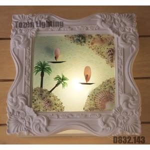 Lampu Dinding Kapur/Gypsum D832-143