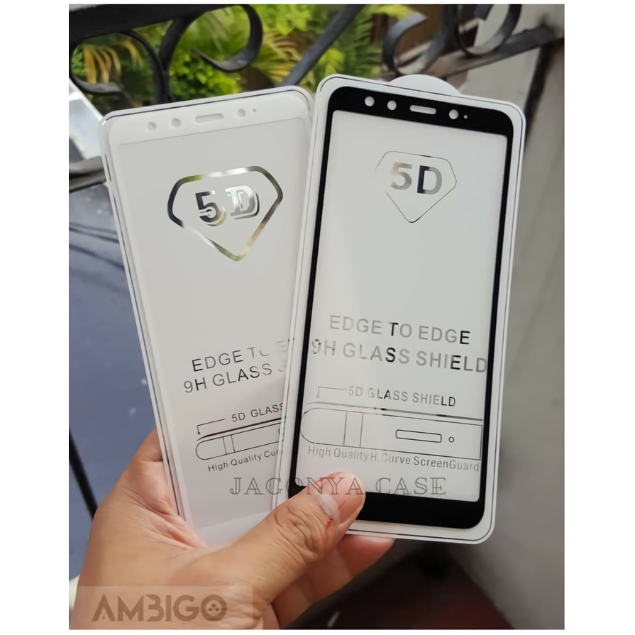 BERGARANSI PREMIUM Tempered Glass 5D Xiaomi Mi 6X Full Layar | Shopee Indonesia