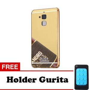Case Metal Bumper Mirror for Xiomi Redmi 4 Prime + Free Holder Gurita | Shopee Indonesia