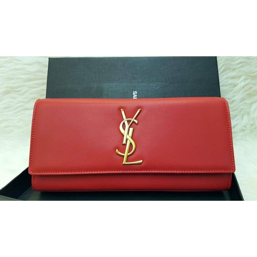 YSL Classic Clutch Swift   Tas Pesta   Wanita Branded  c6471f5581