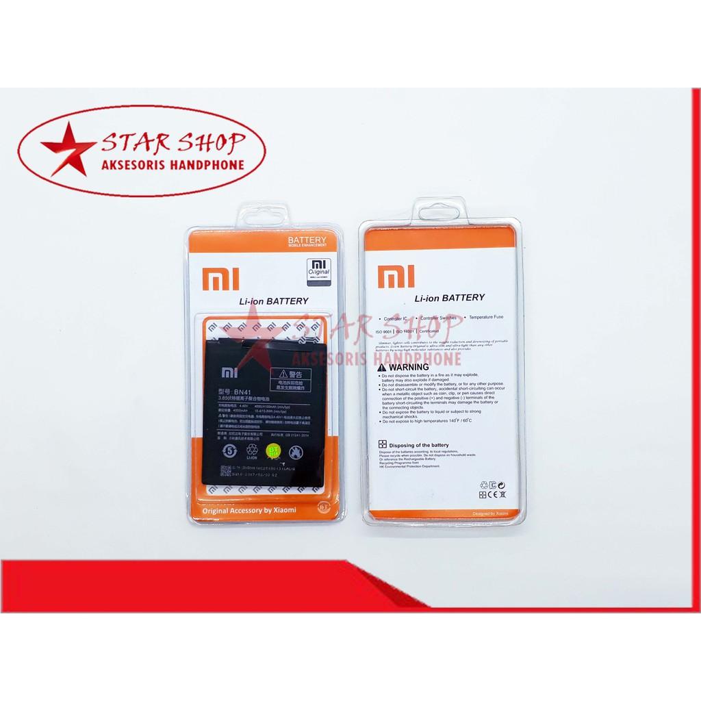 Original 100 Xiaomi Redmi Note 4 Bn41 Baterai Battery Batre Asli 2 Prime Bm45 Bm 45 Xiao Mi Batrai Battre Hp Shopee Indonesia