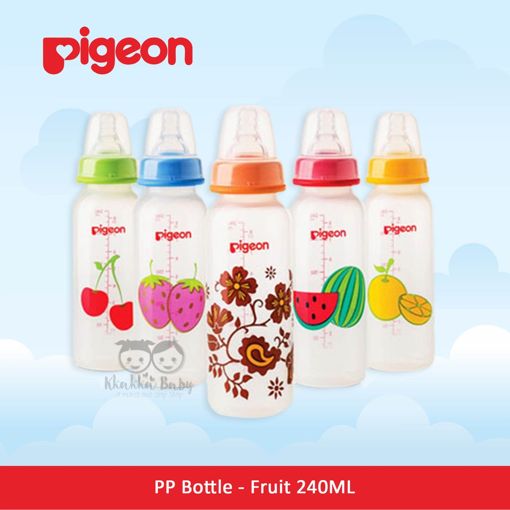Pigeon Standard Bottle 120ml Botol Susu Bayi Shopee Indonesia Baby Karakter Peristaltic Nipple 50ml