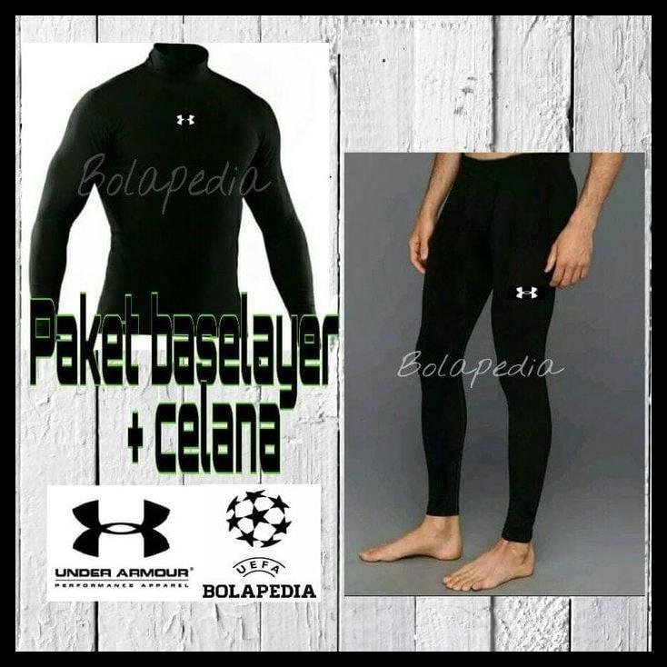 Paket Singlet Gym Fitness Celana Baselayer Manset Legging Pria Ua ... 6a9820085d