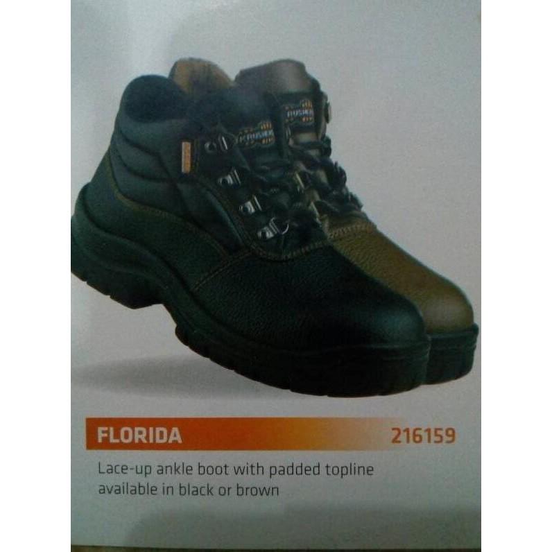 Sepatu Safety Krusher Florida Kualitas Terbaik