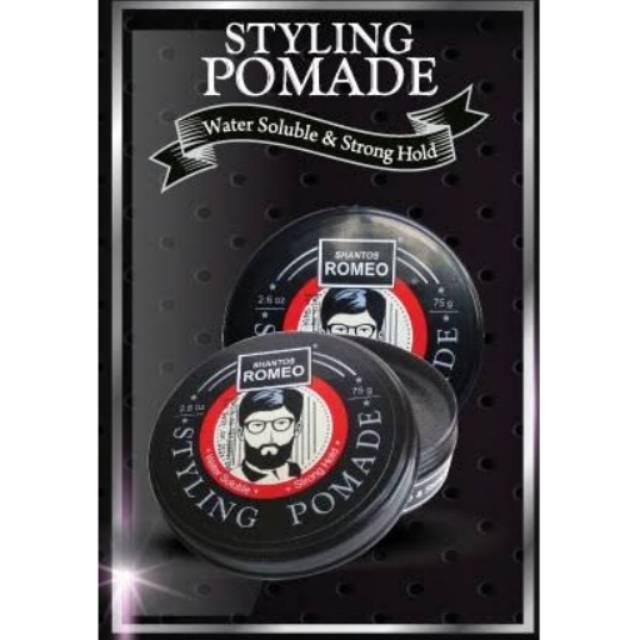 SHANTOS ROMEO STYLING Pomade 2.6 sudah BPOM  20cf54a800