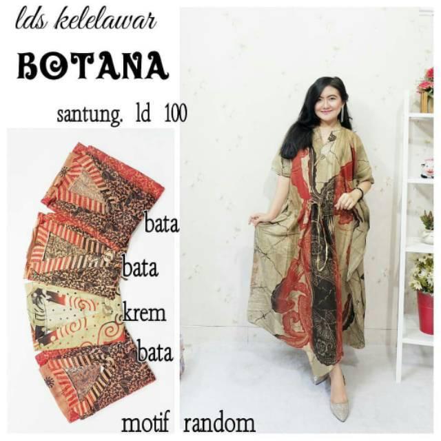 Longdress Batik Print LPT001-15C. Source · DASTER .