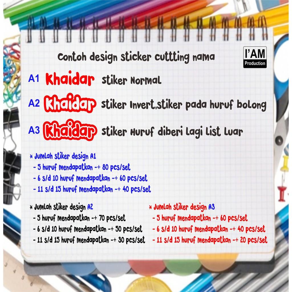 Jasa design pilih template belum cetak desain stiker custom update sticker shopee indonesia