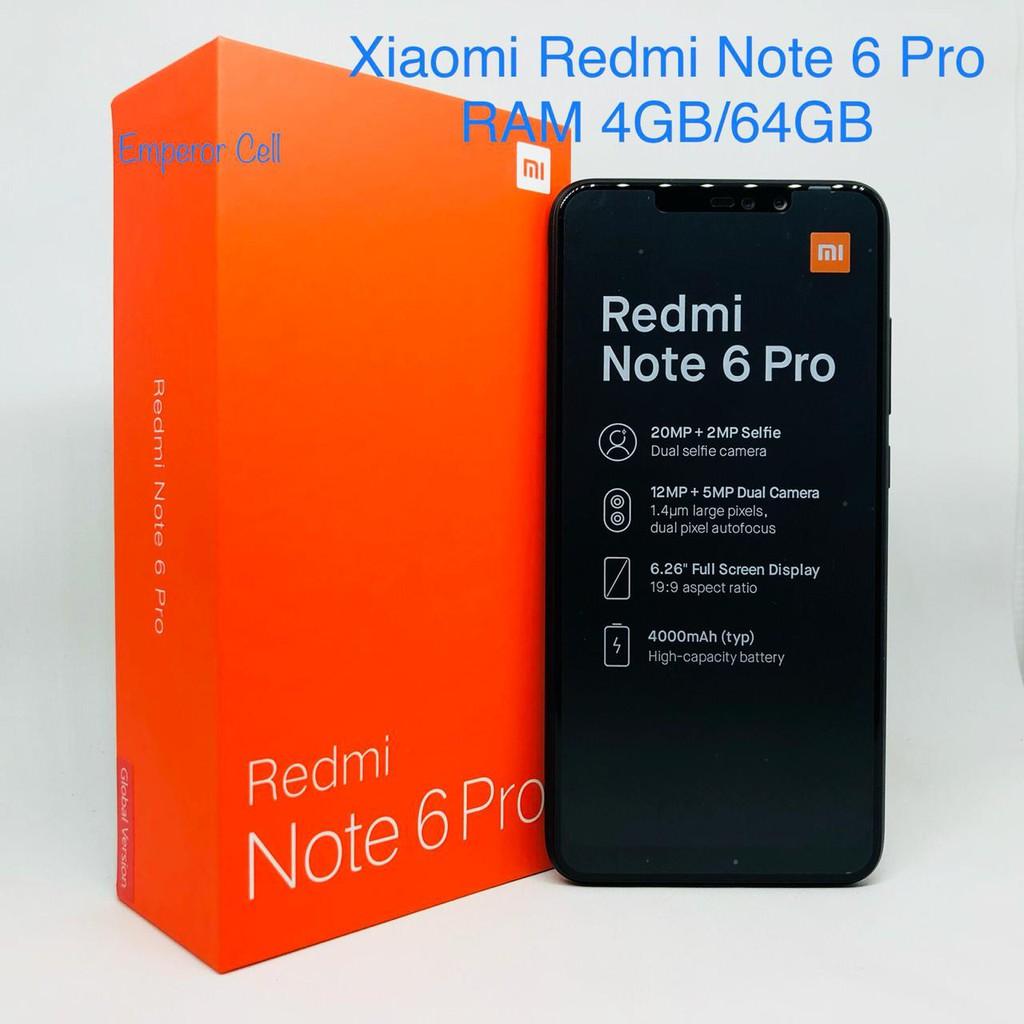 Xiaomi Redmi Note 6 Pro Ram 4gb 64gb Garansi 1 Tahun