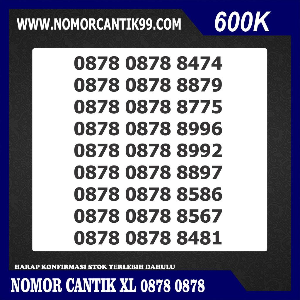 ... Indonesia Source · Nomor Cantik XL 0878 0878 xxxx super hokky gampang dihafal Nomer Cantik XL serian double Shopee