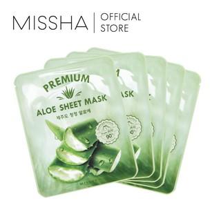 [BPOM] Missha Premium Aloe Sheet Mask thumbnail