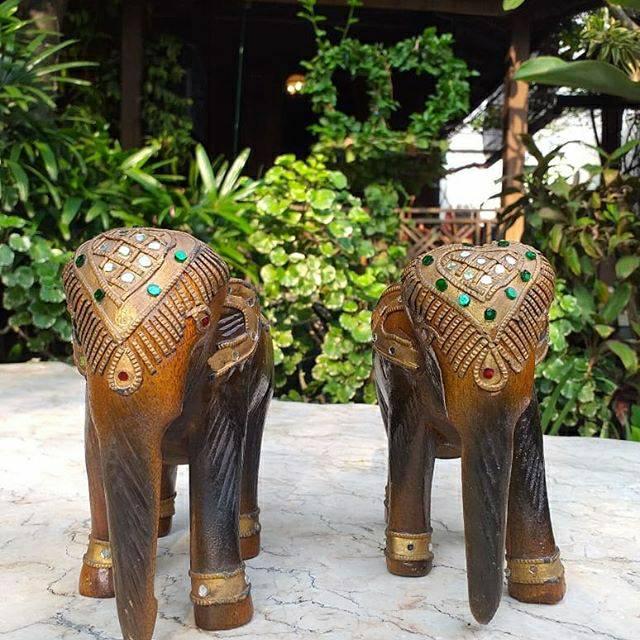 Hiasan Patung Gajah Thailand Shopee Indonesia