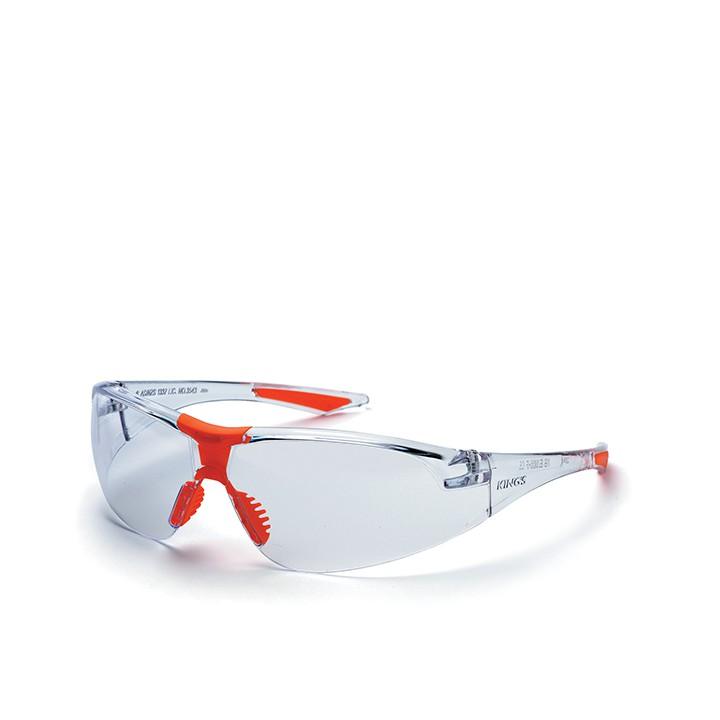 KINGS KY 733 Kacamata Safety Clear Silver Mirror + Nylon Bag KING'S | Shopee Indonesia